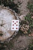 улица играть карточек Стоковые Изображения