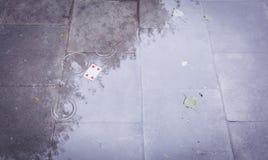 улица играть карточек Стоковая Фотография
