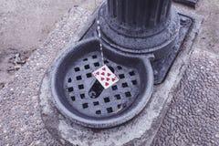 улица играть карточек Стоковые Фотографии RF