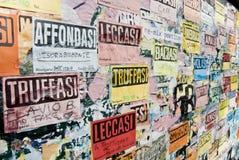 улица искусства объявлений юмористическая Стоковое Фото