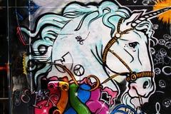 улица искусства Стоковое Изображение RF