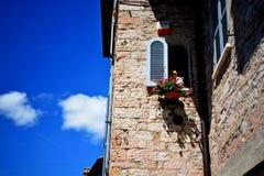 Улица Италия Assisi Стоковые Изображения RF