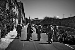Улица Италия Assisi Стоковая Фотография