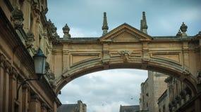 Улица Йорка и аббатство ванны Стоковое Изображение RF
