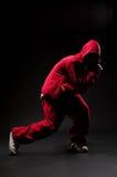 улица красного цвета танцора Стоковые Изображения