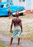 улица Кубы бейсбола Стоковое Изображение RF