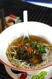 улица лапши еды рыб тайская стоковые изображения rf
