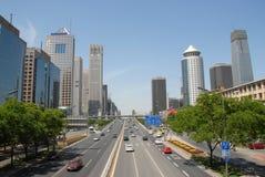 улица места Пекин Стоковые Фотографии RF