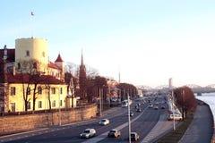 улица места riga Стоковая Фотография
