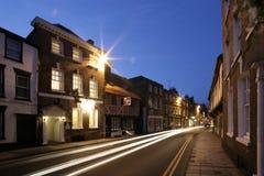 улица ночи стоковые фотографии rf