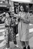 Улица Пауэлл, Сан-Франциско, Соединенные Штаты стоковое фото rf