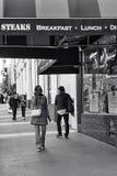 Улица Пауэлл, Сан-Франциско, Соединенные Штаты стоковые фотографии rf
