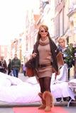 улица подиума модельная Стоковое Изображение RF