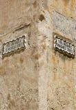 Улица подписывает внутри город Mdina стоковое изображение rf
