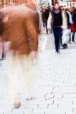 улица покупкы людей Стоковое фото RF