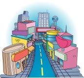 улица покупкы Стоковое Изображение RF
