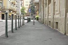 улица пустыни Стоковые Фото
