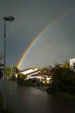 улица радуги Стоковые Изображения RF