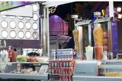 улица ресторана kebab стоковое фото