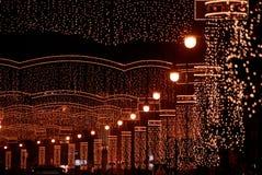 улица рождества Стоковые Изображения RF