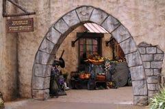 улица рынка Иерусалима Стоковые Изображения