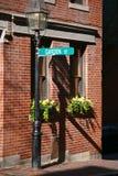 улица сада Стоковые Фото