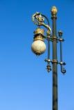 улица светильника богато украшенный Стоковые Фото