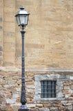 улица светильника старая Стоковые Изображения