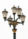 улица светильника старая Стоковое Изображение RF