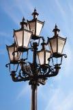 улица светильника утюга старая Стоковые Изображения RF