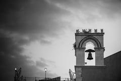 Улица снятая в Taormina, Сицилии Стоковое Изображение RF