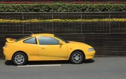 улица спорта стоянкы автомобилей автомобиля стоковое изображение