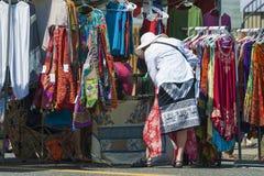 Улица справедливая, Портленд боярышника, Орегон, ежегодное событие общины стоковое изображение