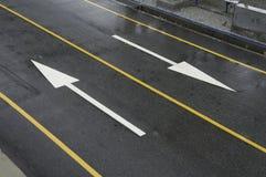 улица стрелки Стоковое фото RF