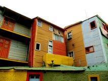 Улица Сaminito, визирование Buenos Aires Стоковая Фотография RF