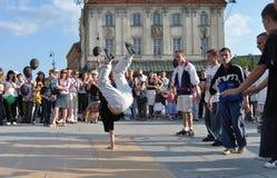 улица танцора Стоковая Фотография