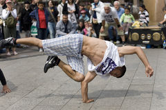 улица танцора berlin Стоковые Фотографии RF