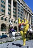 улица танцы стоковое изображение