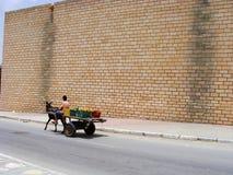 улица тележки стоковая фотография rf