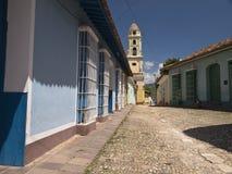 улица Тринидад Кубы Стоковое Изображение RF