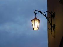 улица фонарика светлая Стоковая Фотография