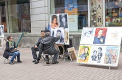 улица художника Стоковое фото RF