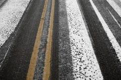 улица черного льда стоковые изображения rf