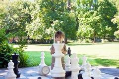 улица шахмат стоковое изображение
