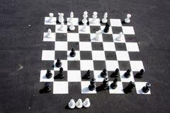 улица шахмат стоковая фотография rf