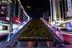 Улица 13 Шэньчжэня Huaqiang северная коммерчески стоковая фотография