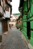 улица alsace стоковая фотография