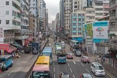 Улица Argyle движения дня Стоковое Фото