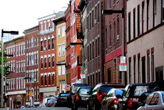 улица boston Стоковая Фотография