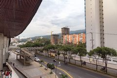 Улица Bucaramanga Стоковое фото RF